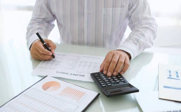 contabilidad empresarial - foto de stock
