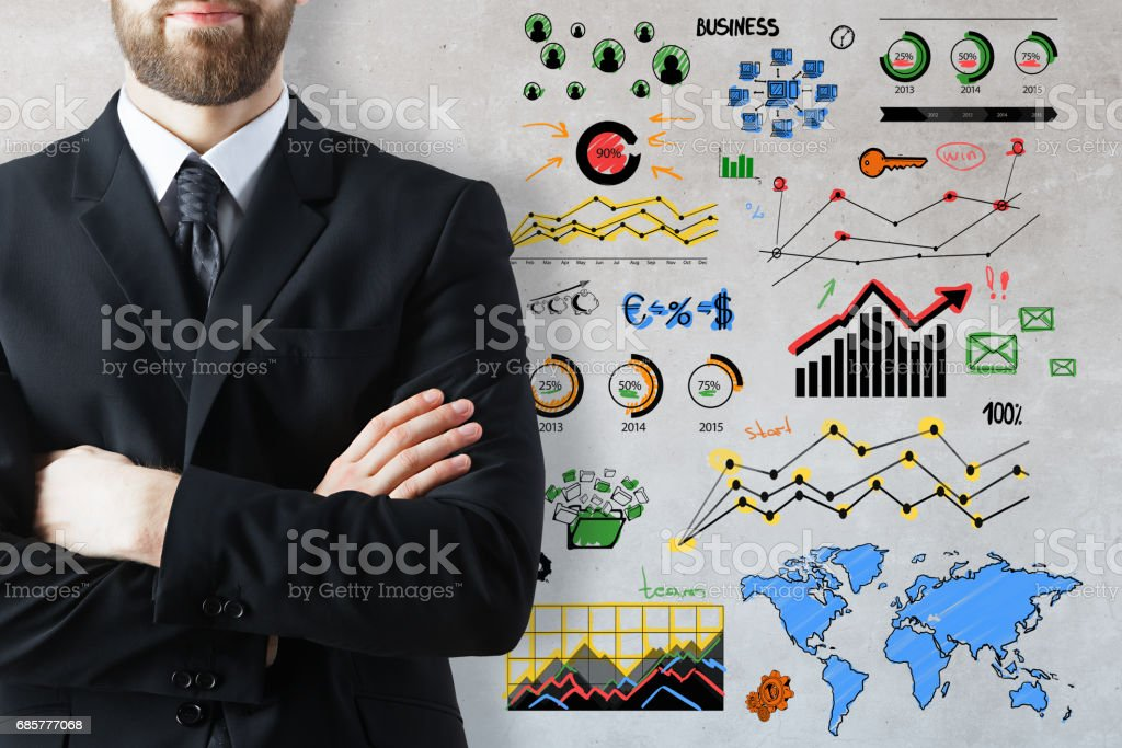 Accounting concept photo libre de droits