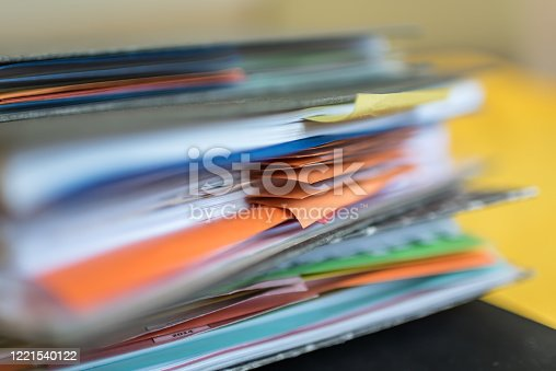 1136634036 istock photo Accounting documents, business and economic concept, financial agenda 1221540122