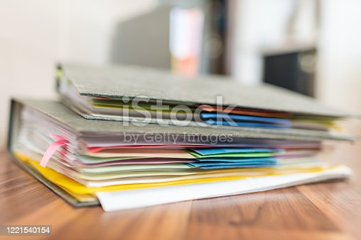 1136634036 istock photo Accounting documents, business and economic concept, financial agenda 1221540154