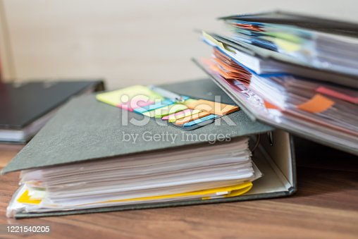 1136634036 istock photo Accounting documents, business and economic concept, financial agenda 1221540205