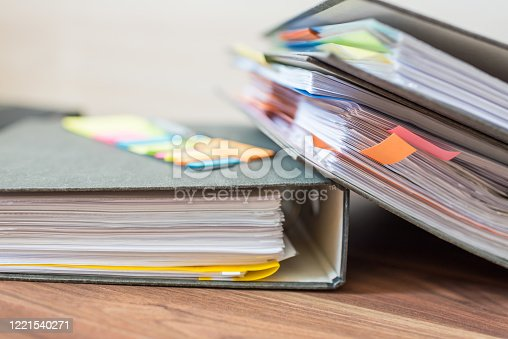 1136634036 istock photo Accounting documents, business and economic concept, financial agenda 1221540271