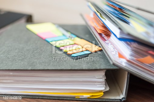 1136634036 istock photo Accounting documents, business and economic concept, financial agenda 1221540310