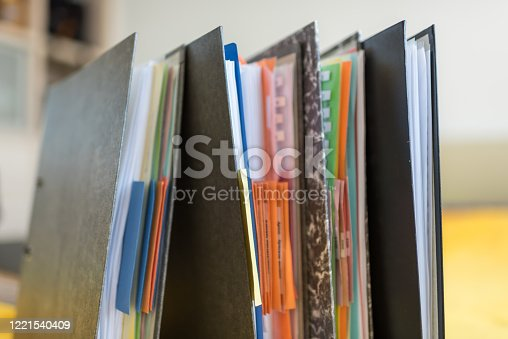 1136634036 istock photo Accounting documents, business and economic concept, financial agenda 1221540409
