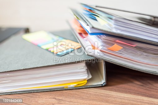 1136634036 istock photo Accounting documents, business and economic concept, financial agenda 1221540433