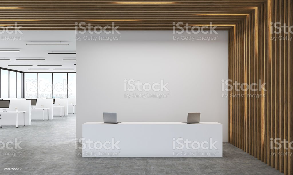 Accounting firm office stock photo