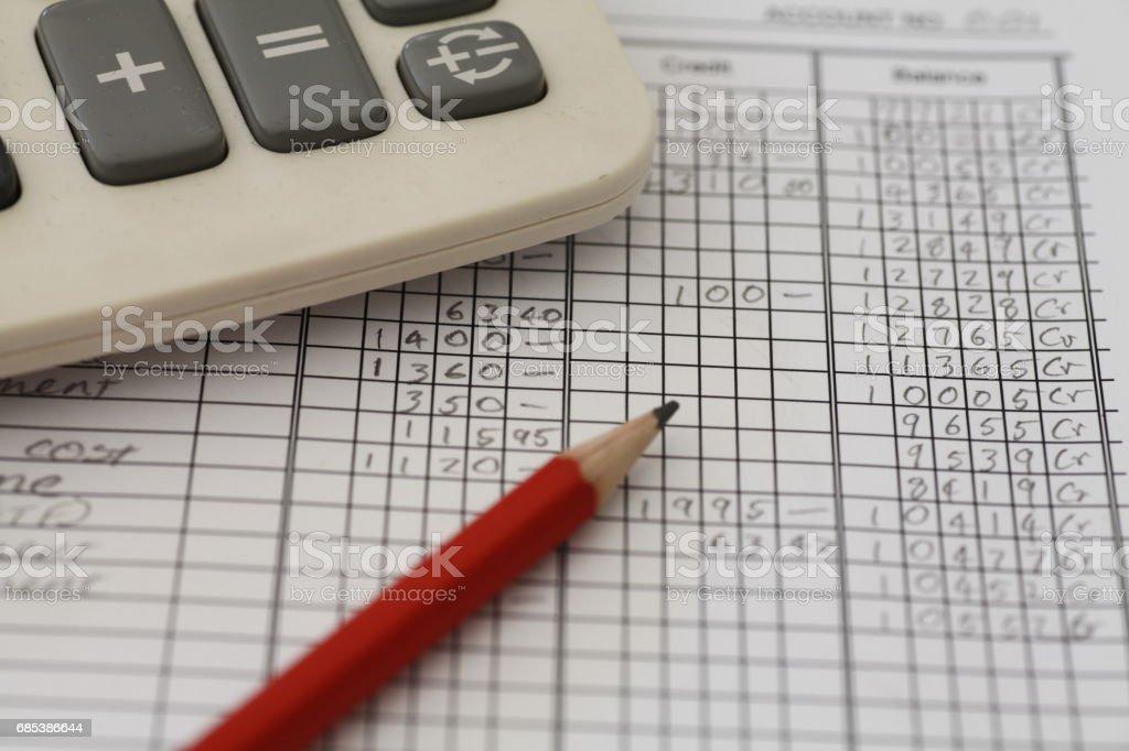 Accounting Ledger - foto de stock