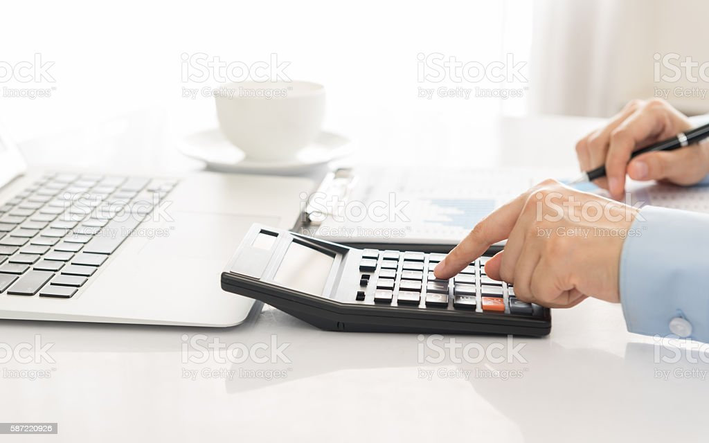 accounting stock photo