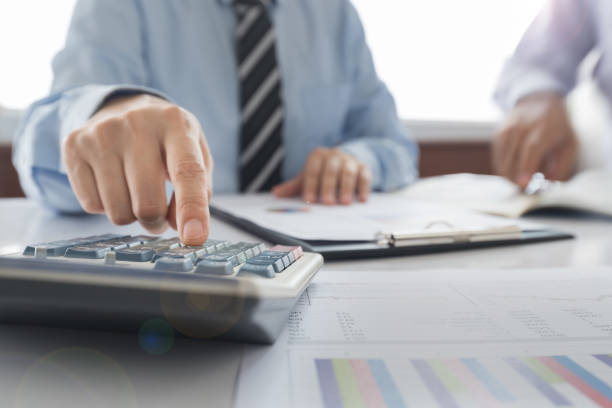 accounting - stock broker stock photos and pictures