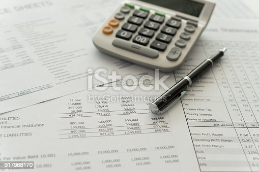 istock accounting spread sheets 917968170
