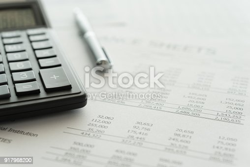 istock accounting spread sheets 917968200
