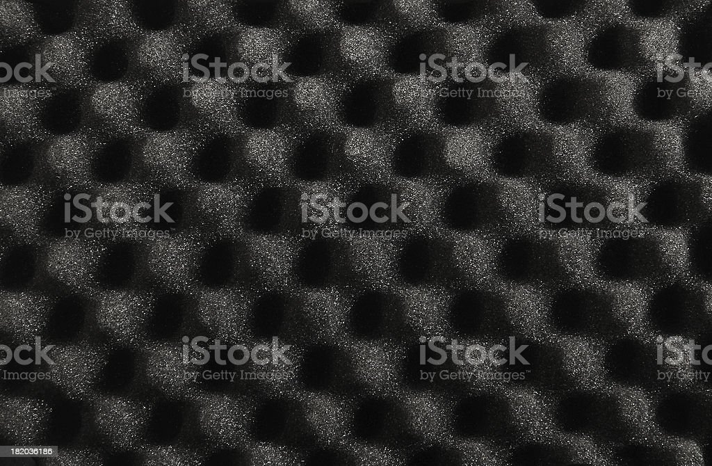 Accoustic Foam Background stock photo