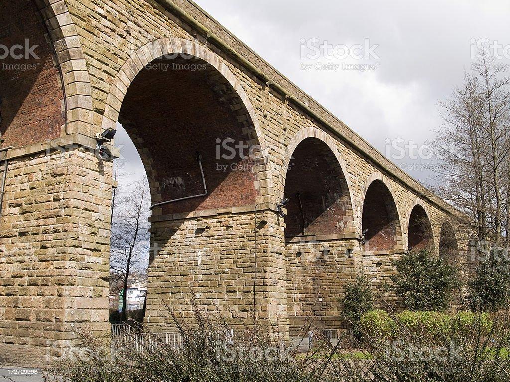Accrington viaduct royalty-free stock photo