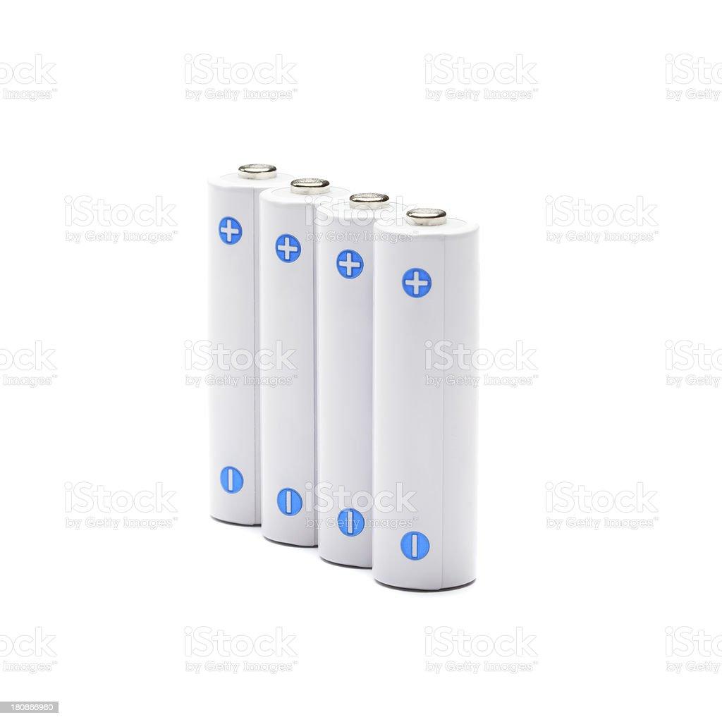 AA accumulator battery royalty-free stock photo