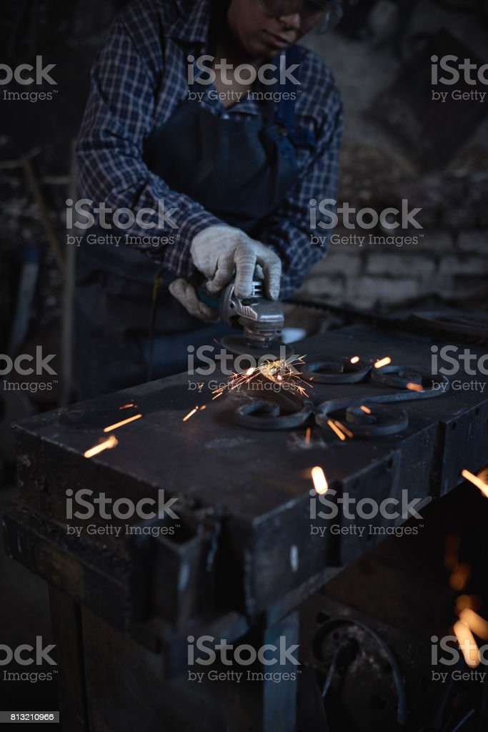 Accuracy of work stock photo