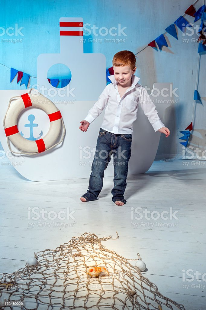 Accurate throw royalty-free stock photo