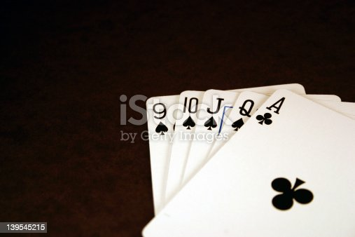 istock Ace High - Poker Series 139545215