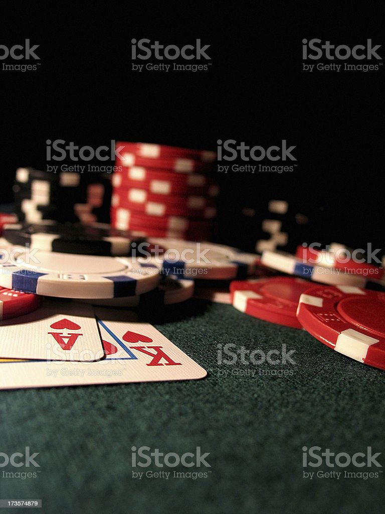 Ace King royalty-free stock photo