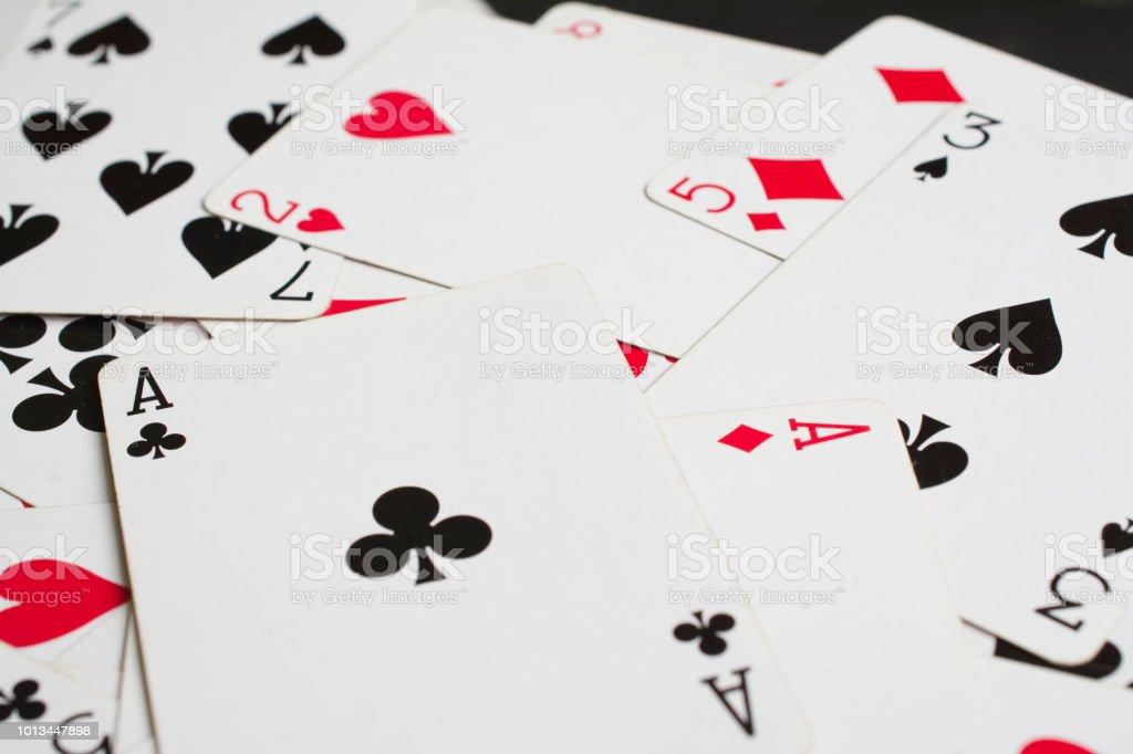 ace of spades close up – zdjęcie