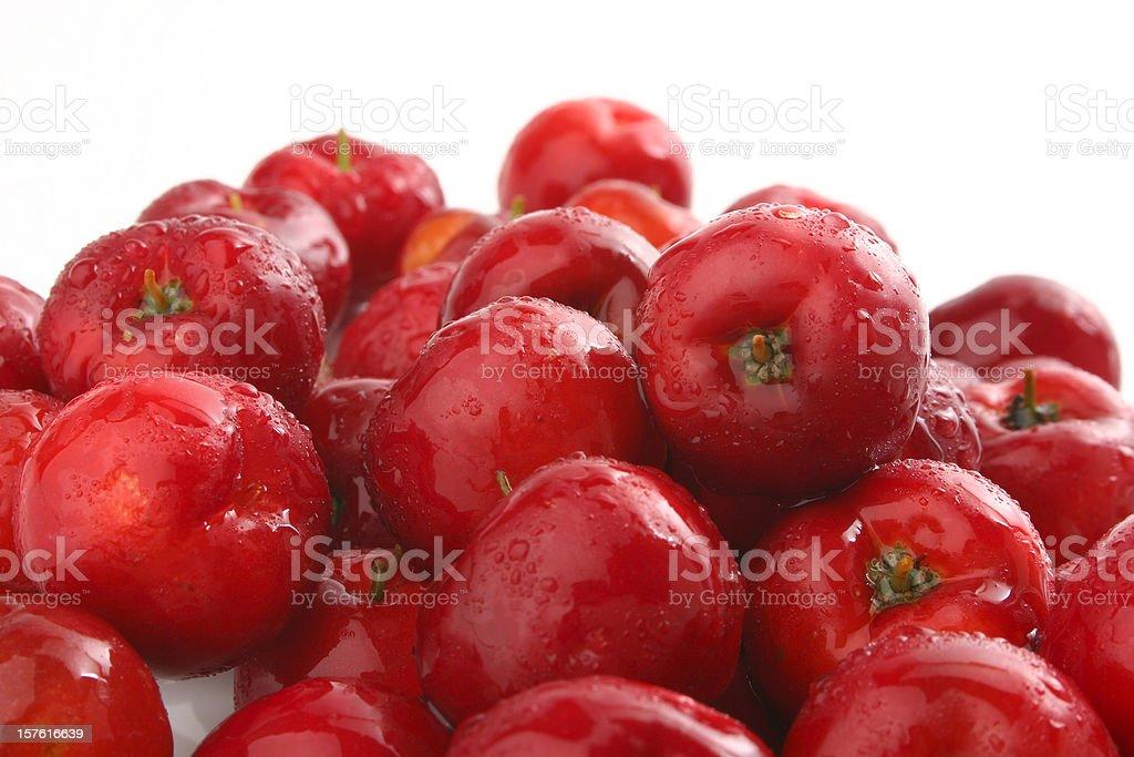 Acerola - Brazilian Fruit stock photo