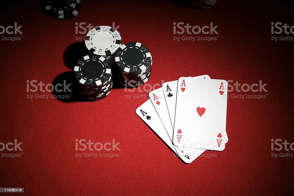Aces... royalty-free stock photo