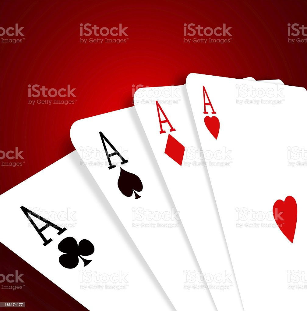 Aces royalty-free stock photo
