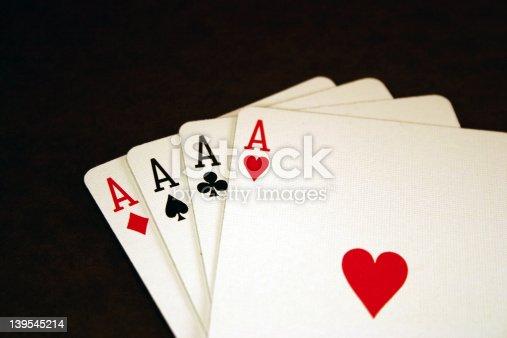istock Aces - Poker Series 139545214
