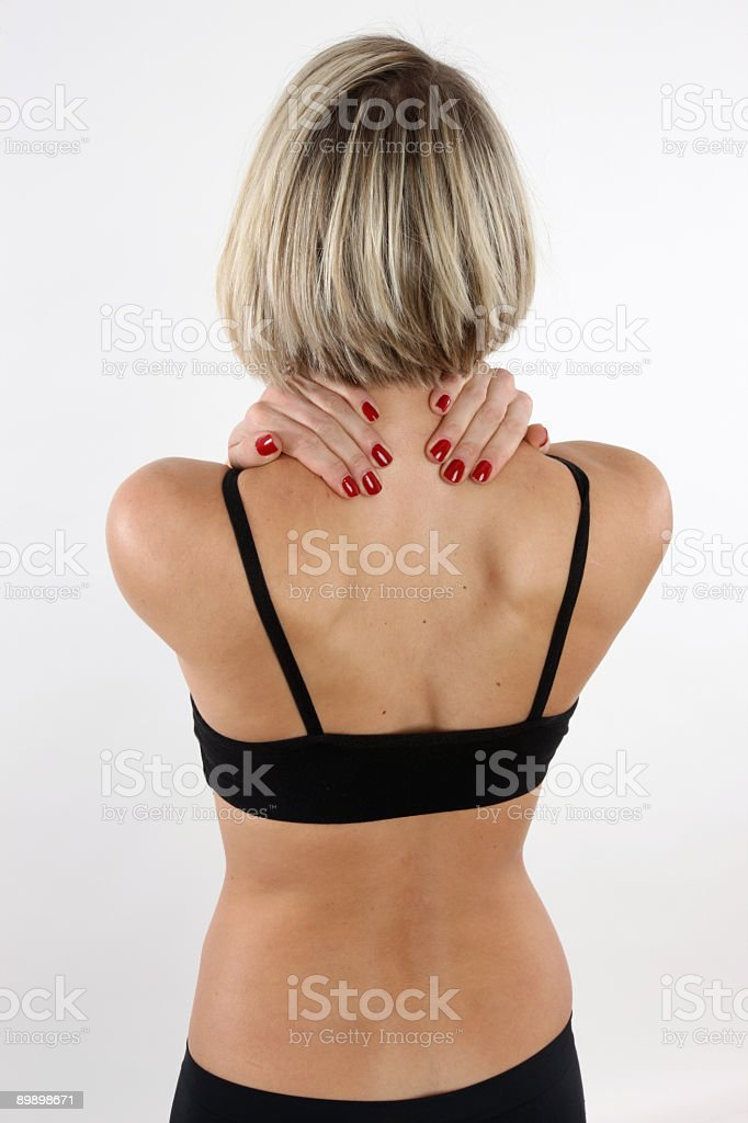 Aches and Pains royalty-free stock photo