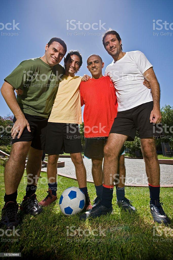 Achievement, Soccer Team Group Shot stock photo