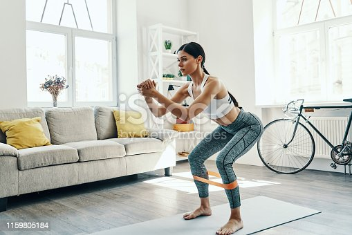 istock Achieving best results. 1159805184