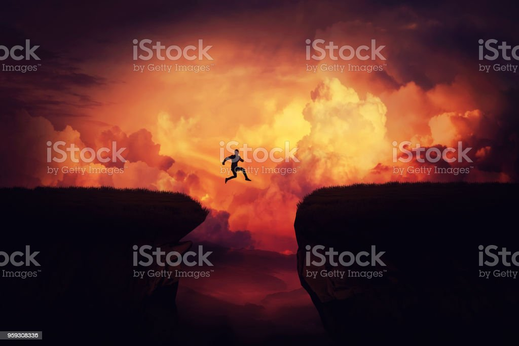 Das Erreichen der Ziele - Lizenzfrei Abenteuer Stock-Foto