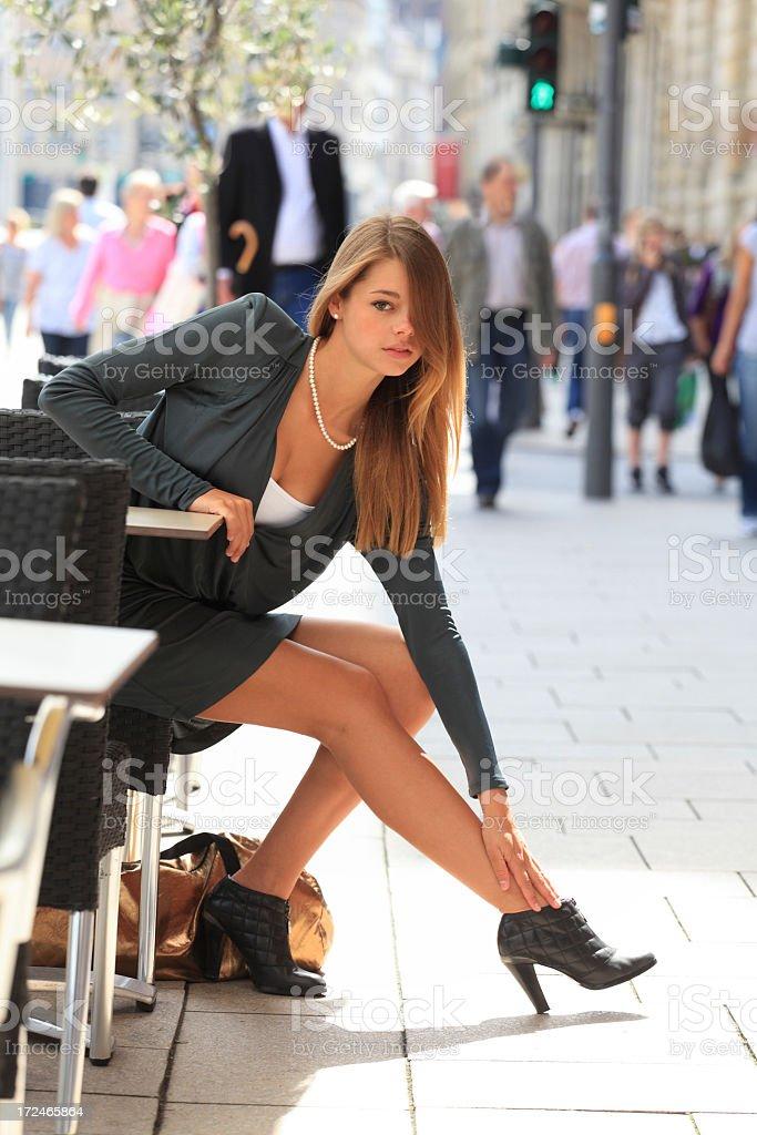 Soulager les jambes dans la ville - Photo