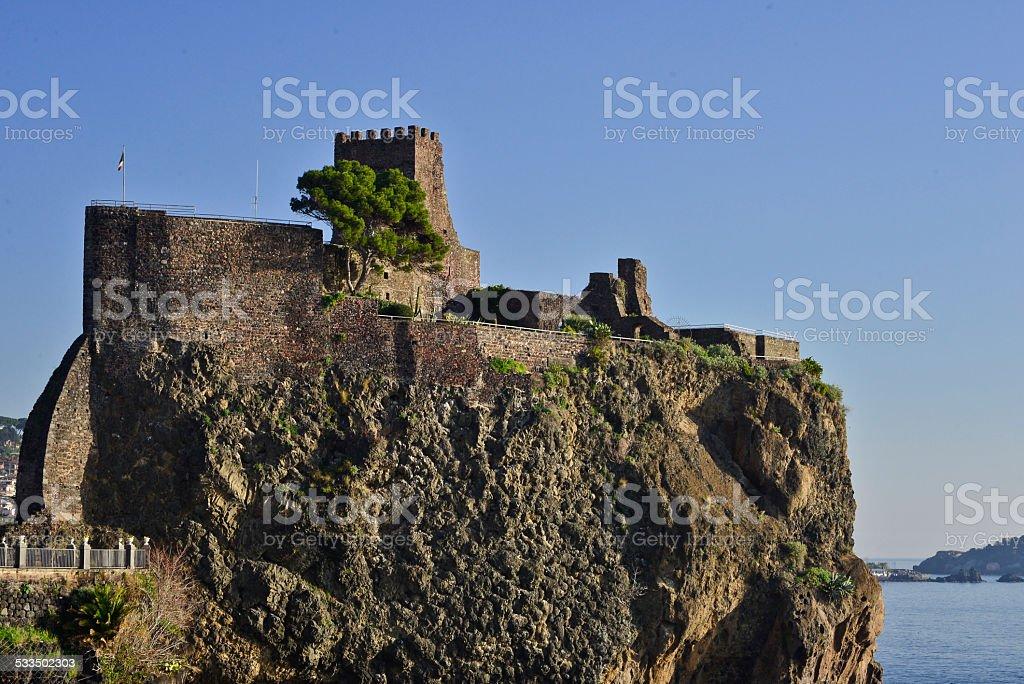 Acicastello, Catania, Italia - foto stock