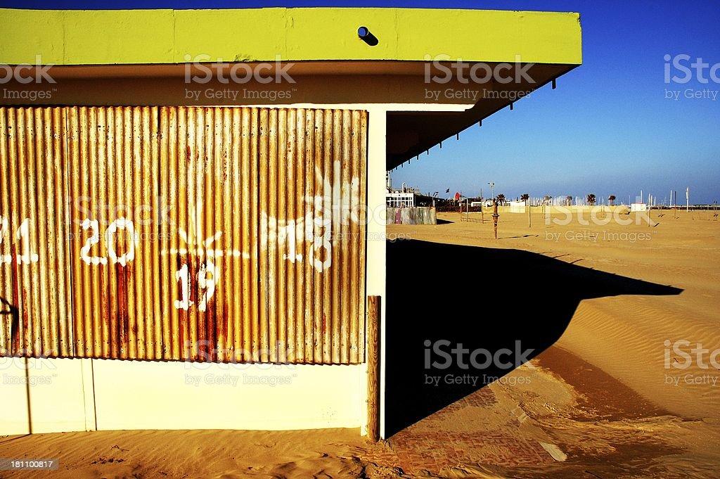 Acid beach royalty-free stock photo