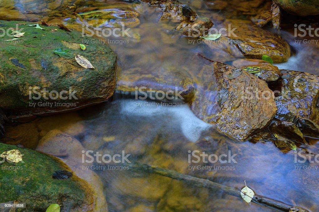Acid Mine Drainage. stock photo