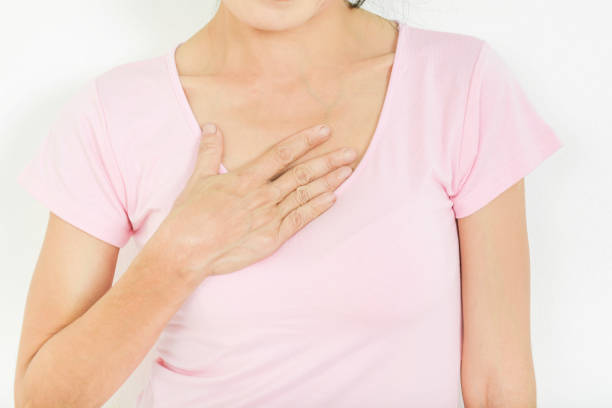 Acid reflux in old women Acid reflux in old women heartburn throat pain stock pictures, royalty-free photos & images