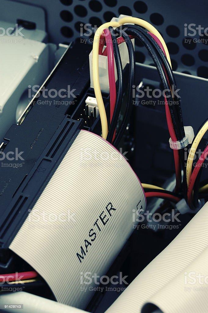 acidify master hard drive cable stock photo