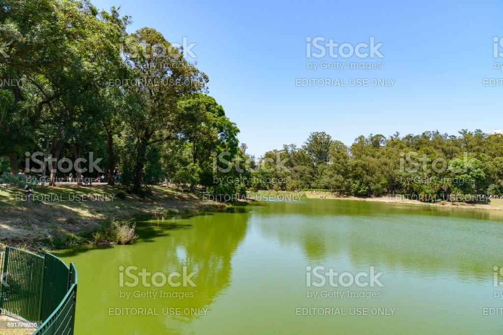 Aclimação Park stock photo
