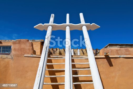 Acoma Pueblo is a Native American pueblo located sixty miles west of Albuquerque, New Mexico.  Pueblo people are descends from the Anasazi, Mogollon, and other ancient peoples. The influences  from the ancient tribes are seen in the architecture and the artistry of Acoma.