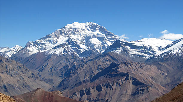 Aconcagua stock photo