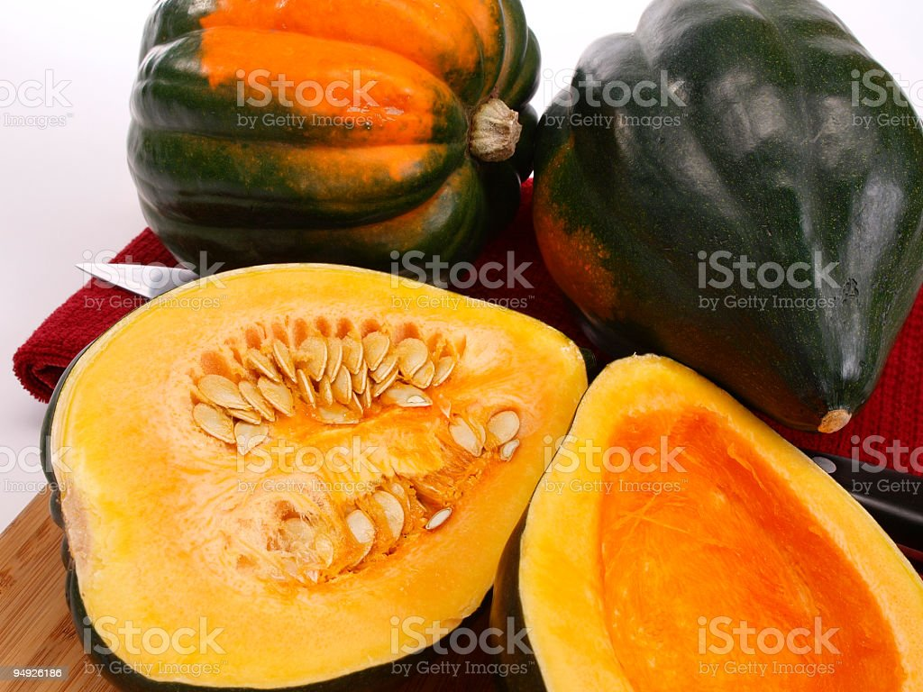 Acorn Squash royalty-free stock photo