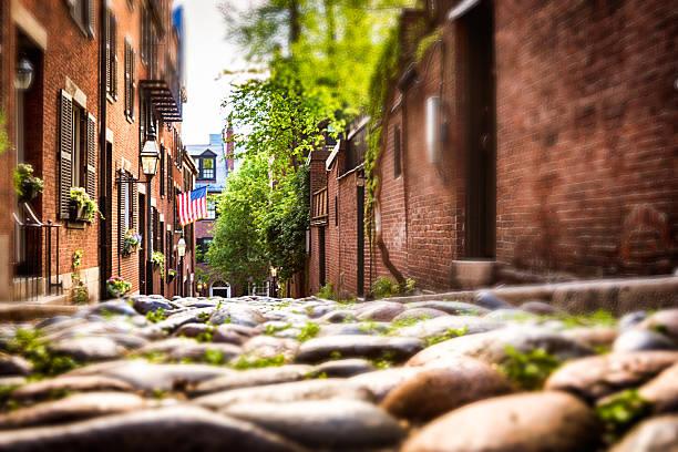 Eichel-Straße in Boston – Foto