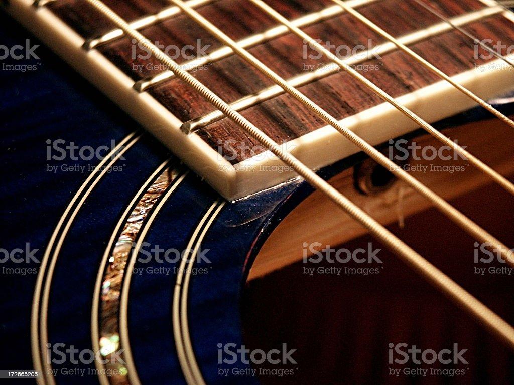 Acoustic Alverez Guitar stock photo