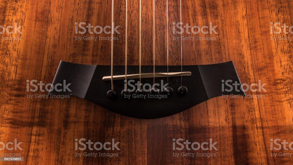 acoustic bridge stock photo