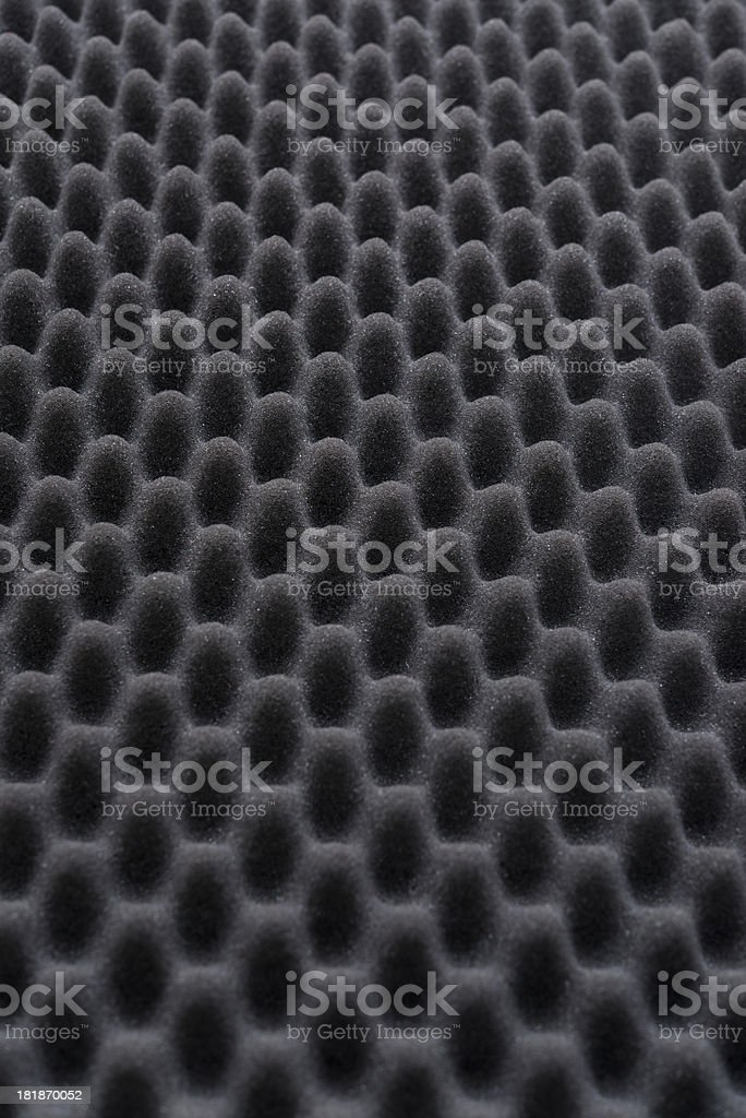 Acoustic foam wall royalty-free stock photo