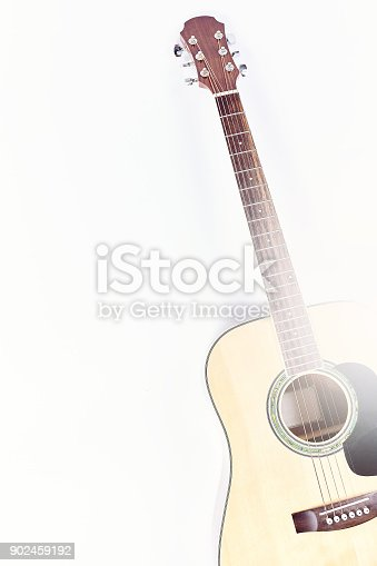 1014432572istockphoto Acoustic guitar isolated on white background . 902459192