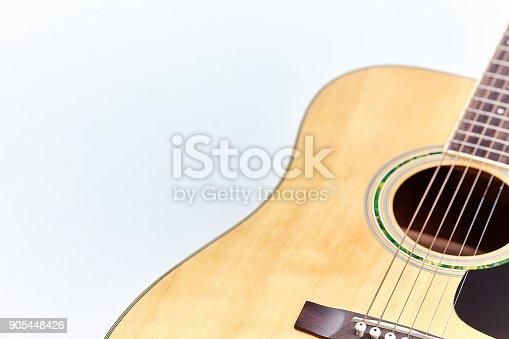 1014432572istockphoto Acoustic guitar isolated on white background . 905448426