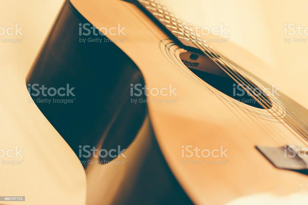 acoustic guitar - Royalty-free Alemanha Foto de stock