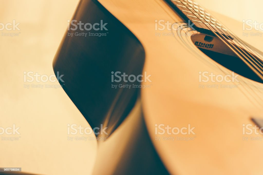 acoustic guitar - Royalty-free Acoustic Guitar Stock Photo