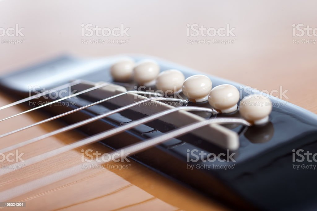 Acoustic Guitar Strings Holder Stock Photo More Pictures Of 2015